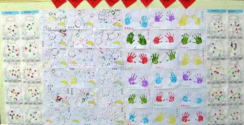 市实验幼儿园举行幼儿美术作品展