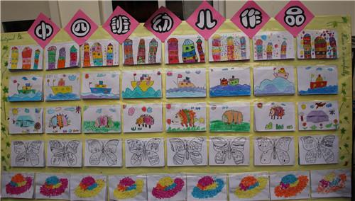 创意画展 点亮童心_济源市实验幼儿园图片