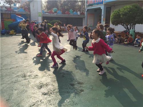 幼儿园袋鼠飞盘图片